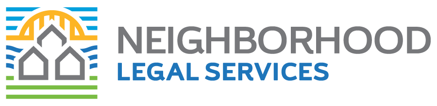 Neighborhood Legal Services Logo - Horizontal
